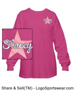 Twinkle World Spirit Jersey- Pink Design Zoom